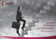Seminar »9 Schritte zur intrinsischen Kompetenz« - nimsky