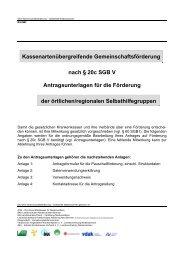 Kassenartenübergreifende ... - Blaues Kreuz Deutschland