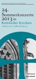 24. 2013 in - Evangelische Kirchengemeinde Rottweil