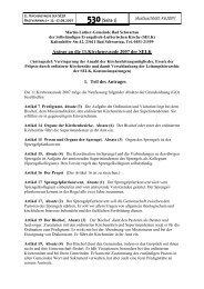530[Seite 1] Antrag an die 11.Kirchensynode 2007 der SELK 1. Teil ...