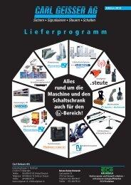 Lieferprogramm - Carl Geisser AG