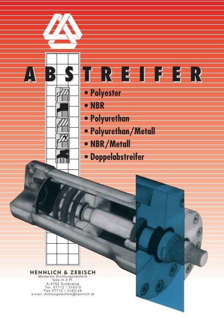 Abstreifer 60 x 70,6 x 5,3//7 mm aus NBR Profil AN-1