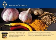 Kokos-Würz-Öl mit Tandoori-Huhn (PDF)