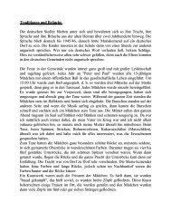Das Leben, Traditionen und Bräuche in Máriakéménd