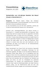 PM 125 Jahre Blaues Kreuz in Deutschland