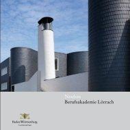 Neubau Berufsakademie Lörrach - und Hochbauverwaltung Baden ...