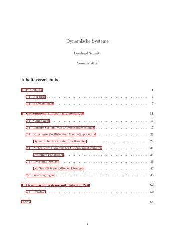 Dynamische Systeme