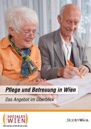 Pflege und Betreuung in Wien - Fonds Soziales Wien