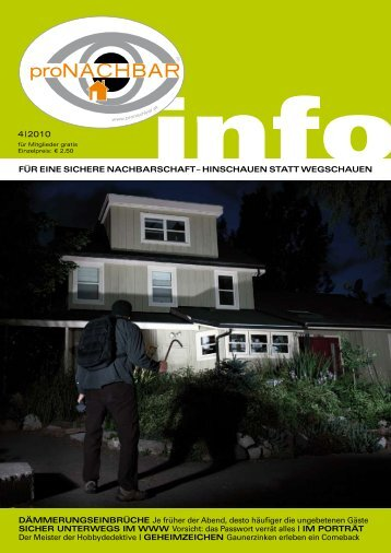 Ausgabe 2010-4 - proNACHBAR