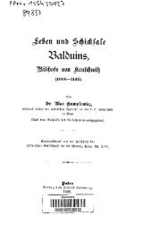 Leben und Schicksale Balduins Bischofs von Krufchwik (1066-1145)