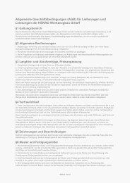 Allgemeine Geschäftsbedingungen (AGB) für Lieferungen und ...