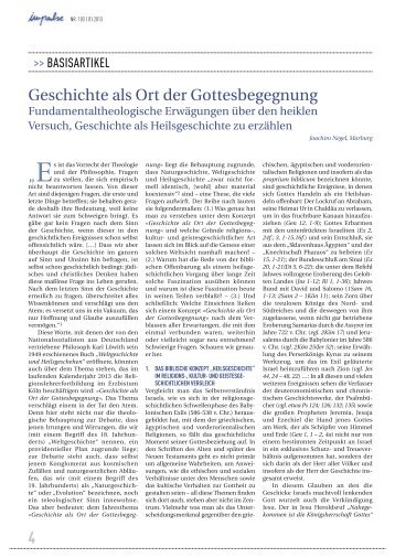 Geschichte als Ort der Gottesbegegnung - Erzbistum Köln