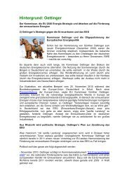 Hintergrund: Oettinger - A Greens/EFA conference