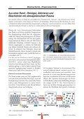 Reinigen, Aktivieren und Beschichten mit atmosphärischem Plasma - Seite 2