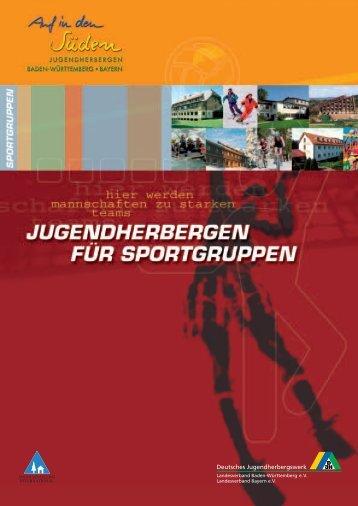 Hier werden Mannschaften - Deutsches Jugendherbergswerk