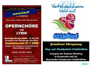 PDF, 3,8 MB - Projektchor der Sing- und Musikschule Veitshöchheim