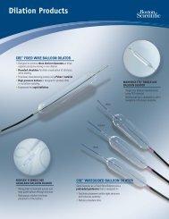 Dilation Products - Boston Scientific