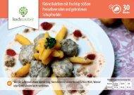 Kleine Buletten mit fruchtig-süßem Preiselbeerrahm und gebratenen ...