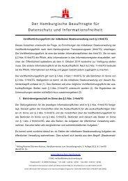 Dokumentvorlage zur einheitlichen Gestaltung - Hamburgische ...