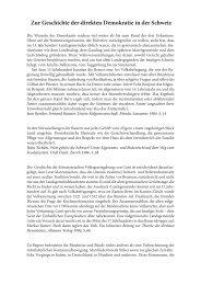 Zur Geschichte der direkten Demokratie in der Schweiz - Direkter ...