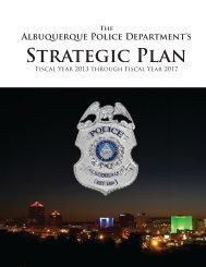 Strategic Plan - City of Albuquerque