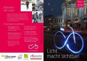 "Folder ""Licht macht sichtbar!""(.pdf, 700 kb) - Fahrrad Wien"