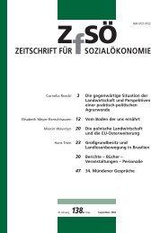 Landlosenbewegung - Zeitschrift für Sozialökonomie