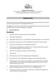 Protokoll von 2010-10-04 (260 KB) - .PDF - Mattsee