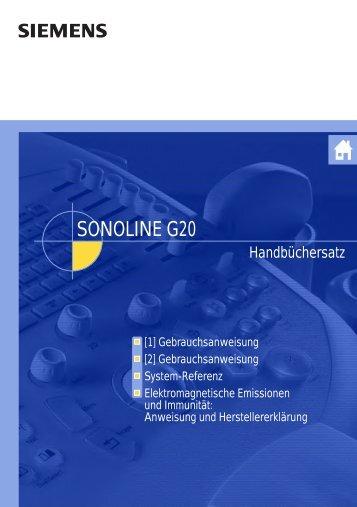 SONOLINE G20 - Frank's Hospital Workshop