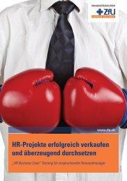 HR-Projekte erfolgreich verkaufen und überzeugend durchsetzen