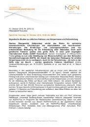 PM NGFN Gigantische Adipositas-Studien