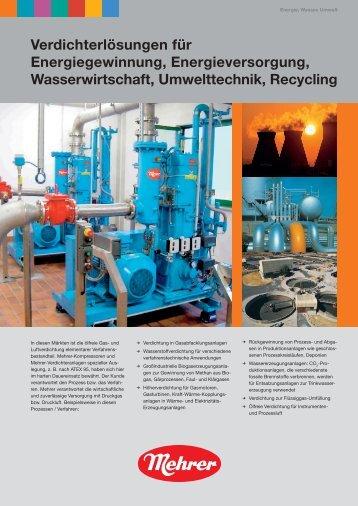 Verdichterlösungen für Energiegewinnung ... - Biogas-Infoboard