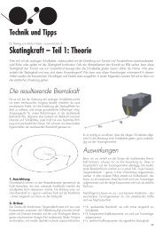 Skatingkraft – Teil 1: Theorie - AAA Switzerland