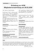 echo-2006-01 - ACM Automobilclub München von 1903 e. V. - Page 4