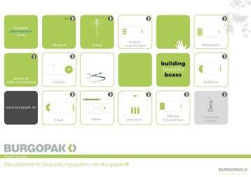 das patentierte Verpackungssystem von Burgopak® building ...