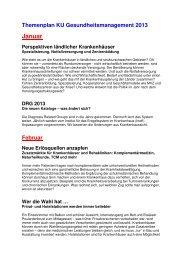 Themenplan 2013_mit Ergänzungen - KU Gesundheitsmanagement