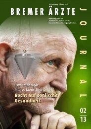 Psychotherapie älterer Menschen - Ärztekammer Bremen
