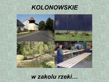 Ein Hauch von Kolonowskie in Wolfsgraben Eine Gemeinde stellt ...