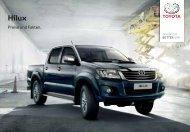 Preisliste Hilux - Toyota Schweiz