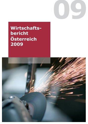 Wirtschaftsbericht Österreich 2009 - Bundesministerium für ...