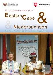 Broschüre zur Zusammenarbeit Niedersachsen - Eastern Cape