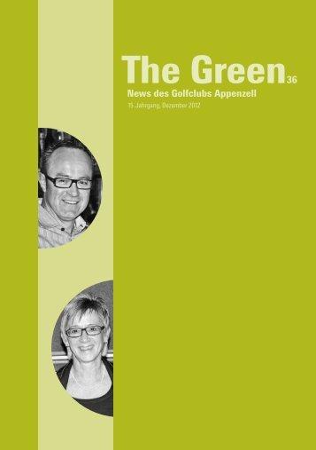 The Green 36 downloaden - Golfclub Appenzell