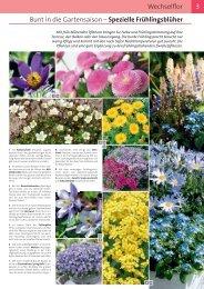 3 Bunt in die Gartensaison – Spezielle ... - Roth Pflanzen AG