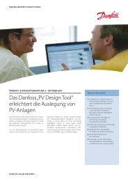 """Das Danfoss """"PV Design Tool"""" erleichtert die Auslegung von PV ..."""