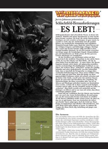 Warhammer: It Will Live Again! - Games Workshop