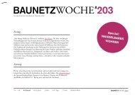 Baunetzwoche#203 – Wandelbar Wohnen