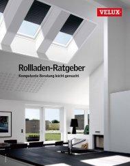 VELUX Rollladen-Ratgeber - kompetente Beratung leicht gemacht
