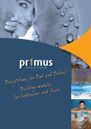 pr1mus Imagebroschüre