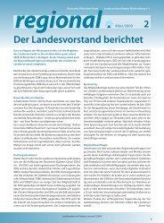 Verbandsnachrichten Regional 0209 - Deutscher Diabetiker Bund ...