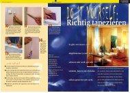 richtig Tapezieren (pdf, 908 KB) - LBS
